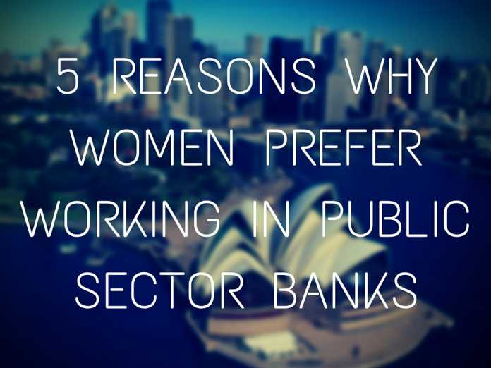 5 Reasons Why Women Prefer Working in Public