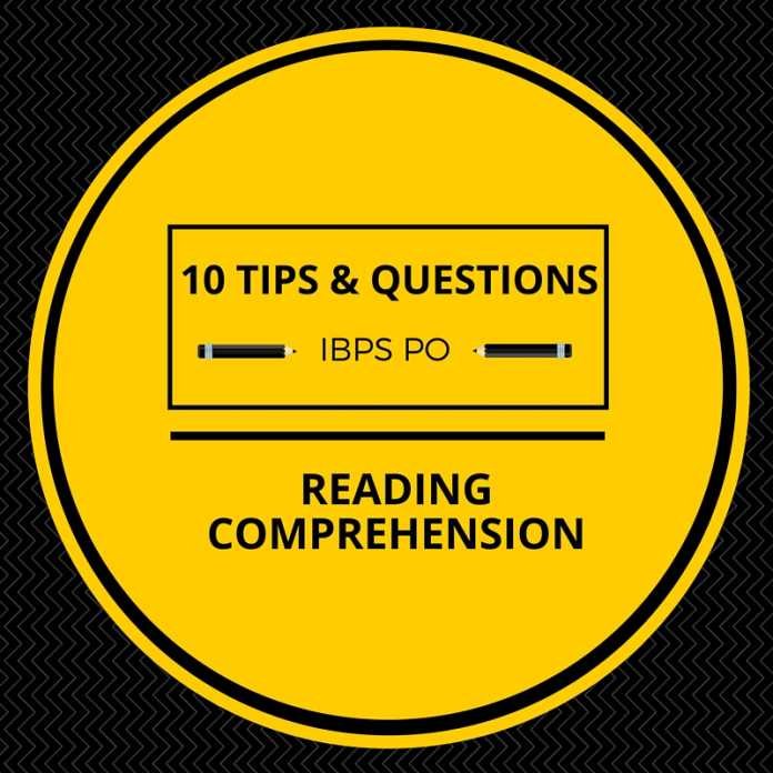 Reading Comprehension Tips and Questions