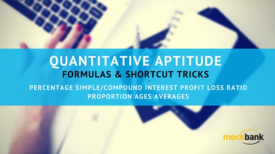 Quantitative Aptitude Formulae & Shortcut Tips Free Download PDF