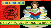 RBI GRADE B Syllabus and Books to Read