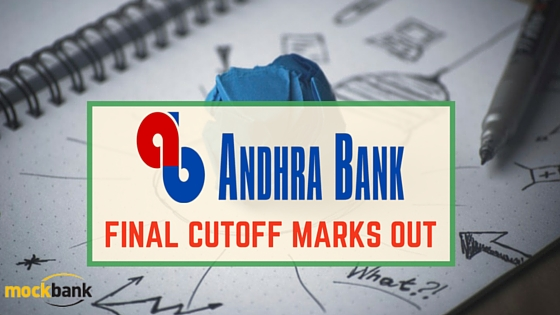 Andhra Bank Final Cutoff marks