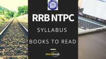 RRB NTPC Pattern Syllabus and Books to read