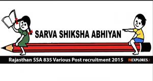 SSA MP Recruitment 6 Vacancies– AE, Dy Engineer & Clerk Posts