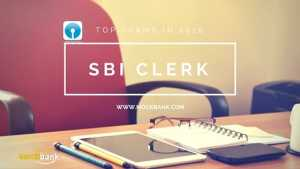 SBI CLERK Notification