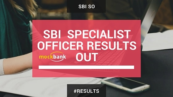 SBI Specialist Officer Systems & Law Result Out