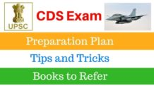 UPSC CDS Exam Preparation, Syllabus and Books to refer