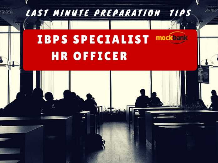 ibps specialist HR officer