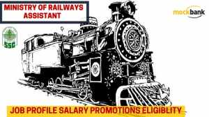 Assistant in Ministry Of railways
