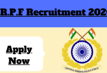 C.R.P.F Recruitment