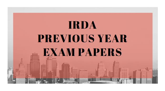 IRDA Previous Year Exam Papers - Life Insurance Adviser 2007 Paper