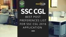 How to fill post preference in SSC CGL with recommendations