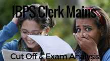 IBPS Clerk Exam cut off exam analysis
