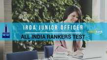 IRDA JUNIOR OFFICER All India Rankers Test
