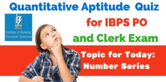 Number Series Questions for IBPS PO and SSC CGL