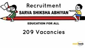 SSA Odisha Recruitment 209 Vacancies -Instructor, Resource Person & Other Posts. opepa.in
