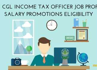 SSC CGL Income Tax Inspector Job Description Career Path Salary Qualification and Stage of exam