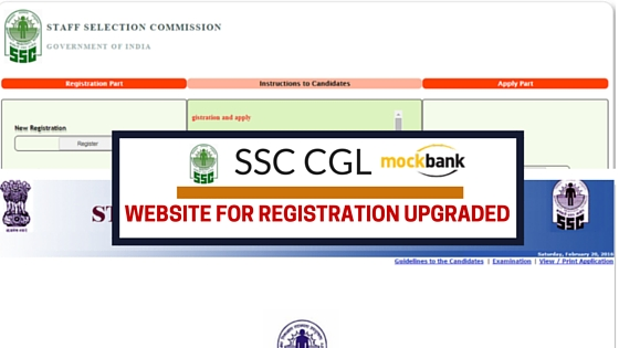 SSC CGL NEW WEBSITE