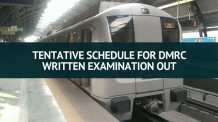 Tentative Schedule for DMRC Written Examination Out