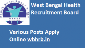 West Bengal Health Recruitment Board Jobs for 6368 Staff Nurse Posts. www.wbhrb.in
