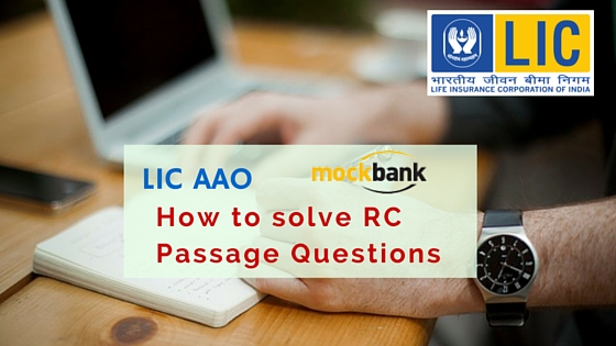how to solve RC Passage Questions