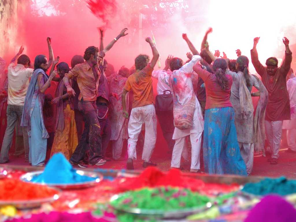 Holi- The festival Of Colours