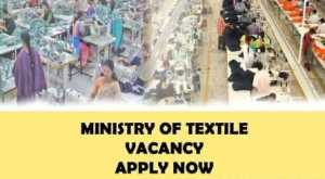 Ministry of Textiles Recruitment 15 Vacancies - Lower Division Clerk