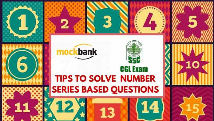 tips to solve Number Series questions SSC CGL