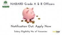 Nabard Grade A and B officers Notification Out
