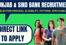 Punjab and Sind Bank Recruitment