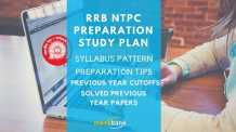 RRB NTPC Preparation Study Plan