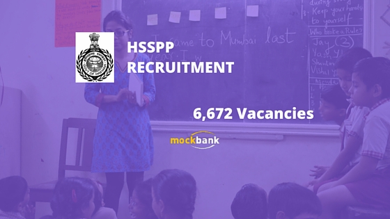 HSSPP Recruitment 6672 Vacancies - Computer Instructor Posts. www.hsspp.in