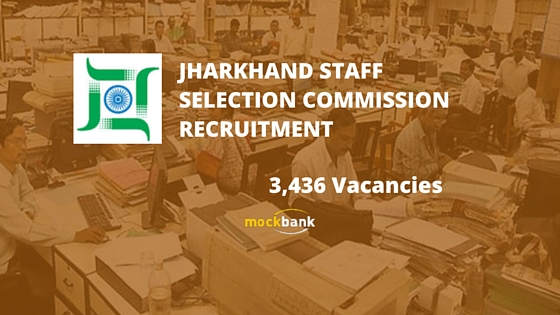 JSSC Recruitment 3436 Vacancies - Panchayat Secretary, LDC & Other Posts.jssc.in