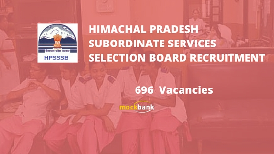 HPSSSB Recruitment 696 Vacancies - Staff Nurse, FHW & Other Posts.pscwbonline.gov.in