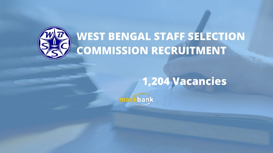 WBSSC Recruitment 1204 Vacancies-Krishi Prayukti Sahayak Posts.www.wbssc.gov.in
