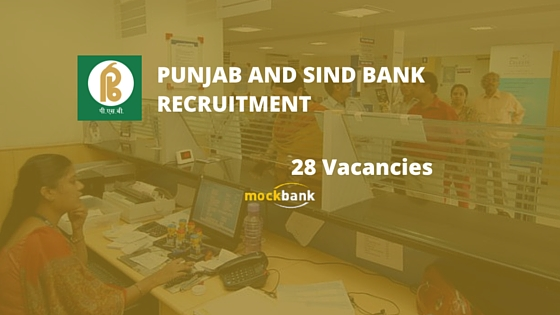 Punjab and Sind Bank Recruitment 28 Vacancies - PSB Manager Posts psbindia.com
