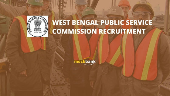 WBPSC Junior Engineer Recruitment.www.pscwbonline.gov.in