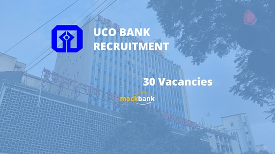 UCO Bank Recruitment 30 vacancies - Law Officer & Engineer Posts.ucobank.com