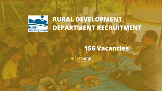Rural Development Department Tripura Recruitment 156 Vacancies - LDC & Work Asst Posts.rural.tripura.gov.in