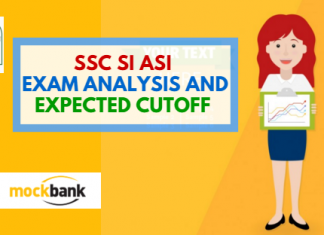 SSC SI ASI Exam Analysis and Expected Cutoff