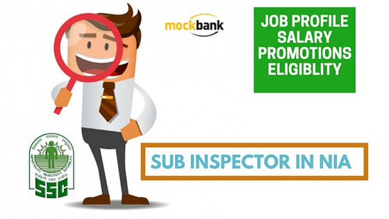 Sub Inspector in NIA (National Investigation Agency)