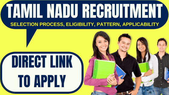 Tamil Nadu Recruitment