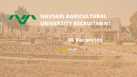 Navsari Agricultural University Recruitment 66 Vacancies - Teaching & Non Teaching Posts.nau.in