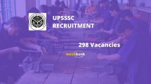 UPSSSC Junior Engineer Recruitment 2016 Apply 298 JE Vacancies at upsssc.gov.in