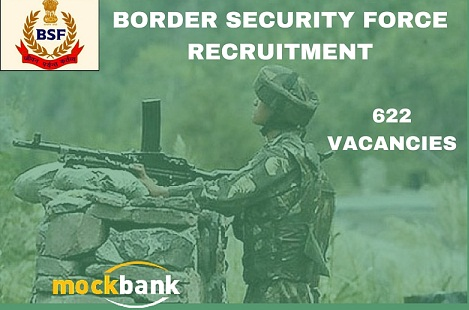 BSF Recruitment 622 Vacancies - Asst Sub Inspr & Head Constable Posts.bsf.nic.in