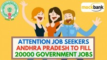 Attention Job Seekers Andhra Pradesh to fill 20000 Government Jobs