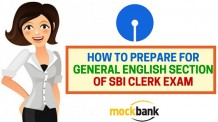 How to prepare for General English Section of SBI Clerk Exam
