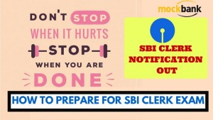 How to prepare for SBI Clerk Exam