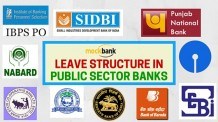 Leave Structure in Public Sector Banks