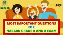 Most Important Questions for NABARD Grade A and B Exam