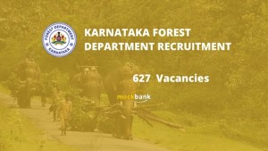 Karnataka Forest Department Recruitment 627 Vacancies - Forest Guard and Officer Posts.aranya.gov.in